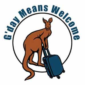 G'day Means Welcome