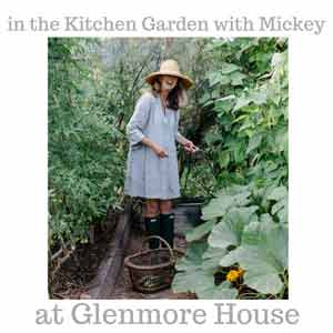 In The Kitchen Garden With Mickey