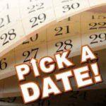 Pick A Date