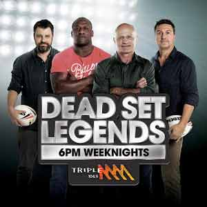 The Dead Set Legends Catch Up Sydney and Brisbane