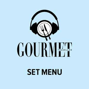Gourmet Traveller's Set Menu