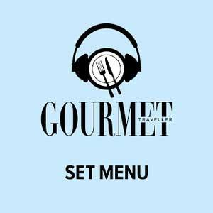 Gourmet Traveller's Set Menu