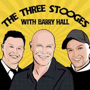 The Three Stooges With Barry Hall