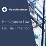 Employment Law For The Time Poor