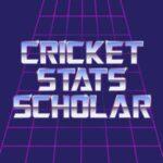 Cricket Stats Scholar